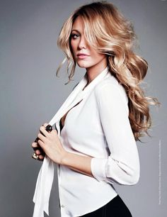 Not usually a fan of blondes but Blake lively can get it ...all day