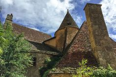 Las casas de techos puntiagudos de La Roque-Gageac