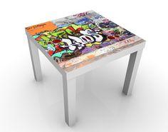 Kinder#tisch Graffiti - Tische Bunt #Graffiti #sprayen #streetlife #skater #yolo