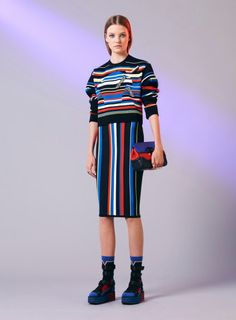 Colorful & Graphic Outfit  #lesacajoues