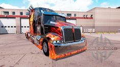 Wester Star 5700 Optimus Prime for American Truck Simulator