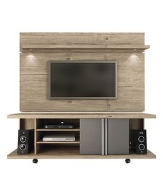 Nature & Onyx Carnegie TV Stand & Park 1.8 Panel