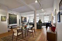 DOORMAN LOFT - OFF UNIVERSITY PLACE  39 East 12th Street 510/511. New York, New York, Represented exclusively by Victoria Matus . See more eye candy on this home at http://www.halstead.com/2237588