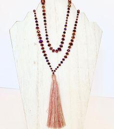 Mixed Brown Blue Tiger Eye Sterling Silver Necklace Mens Women DIY-KAREN 096
