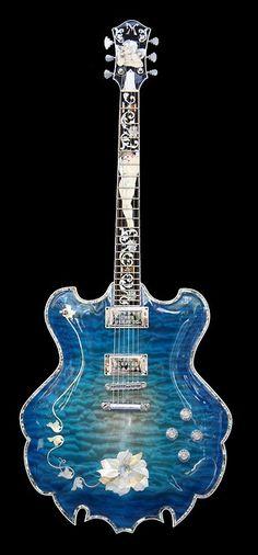 Esta é sem dúvida uma guitarra excepcional!