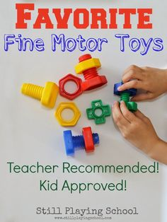 Favorite Fine Motor Toys from Still Playing School