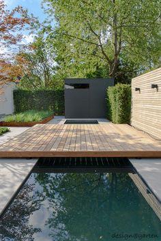 Fantastic garden in munich - riemerling design garden