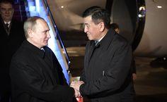 Владимир Путин прибыл в Бишкек   14 апреля 2017 года 08:30   http://www.kremlin.ru/events/president/news/54290/photos