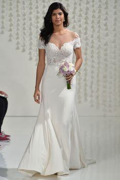 @watterswtoo Seaton (8028B) gown and Nami Belt (8902B) | Watters Fall 2015 Wedding Dresses | Weddingbells