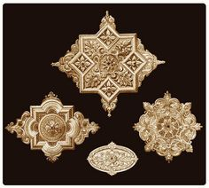 Plaster ceiling medallions