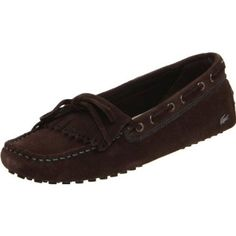 Lacoste Women`s Courcele 3 Flat,Dark Brown/Turquoise,6 M US $145.00