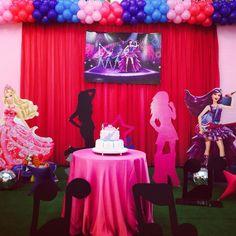 101 fiestas: Fiesta Temática Barbie Pop Star