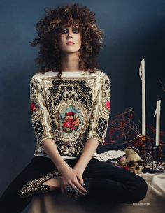 bcce187ac87a Marike Le Roux by David Slijper for Elle UK September 2012 Passion For  Fashion