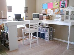 18 DIY Schreibtische zur Verbesserung Ihres Arbeitsplatzes zu Hause