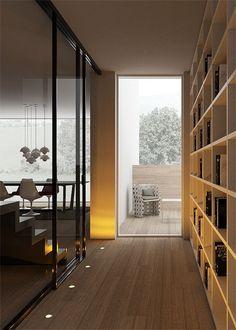 Partition wall SKIN by MOVI | #design Castiglia Associati #interiors
