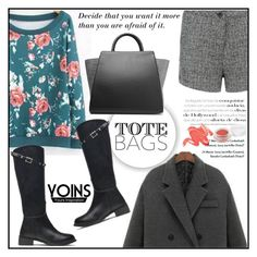 """""""Yoins"""" by vidrica ❤ liked on Polyvore featuring ZAC Zac Posen, Herbivore Botanicals, women's clothing, women's fashion, women, female, woman, misses, juniors and totebags"""