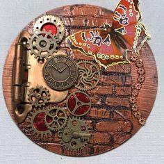Enfants Garçons Filles steampunk cœur T-shirt horloge mécanique rouages vapeur