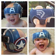 Captain America Helmet DOC Band