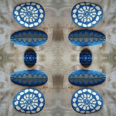 www.monicaj.etsy.com Thread and stones x 4.