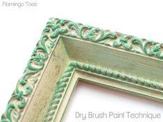 Dry Brush Paint Technique