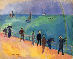 Carnival on the Beach, 1906 Raoul Dufy
