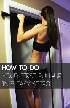 With a little preparation, steady practice, and the right approach, you can be on your way to completing your first pull-up. Here's how to do it in 5 easy steps.