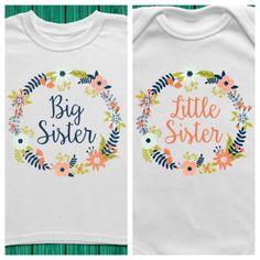 Bundle Big Sister Little Sister Outfits Big by TrendyCactus