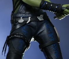 Gamora Pants and Arm Band detail reference