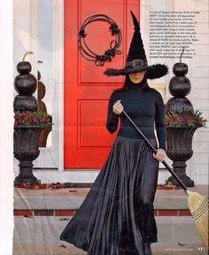Like the black pumpkin idea