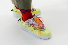 Takashi Murakami Nike Air Force 1 Flower Power Customs Paris