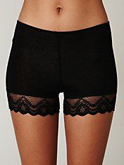 must get these lace trim bike shorts. how adorable will they be peeking out of dresses + skirts??? GAH
