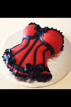 Corset Cake!! By Today's Sweet Cakery
