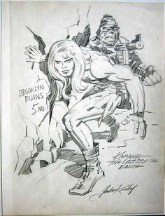 Kamandi-the Last Boy on Earth Cap'n's Comics: Some Jack Kirby from the Amazing Valentine for Roz