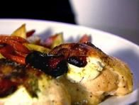 Chicken with Goat Cheese and Sundried tomatoes