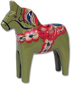 Green Magde Dala Horse