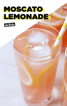 This Moscato Lemonade Is Pretty In PinkDelish