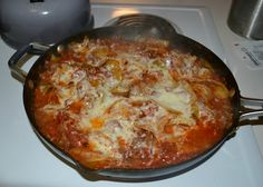 Unstuffed Cabbage Roll Casserole is the easy way to make stuffed peppers without all the rolling but keeping all the delicious flavors!
