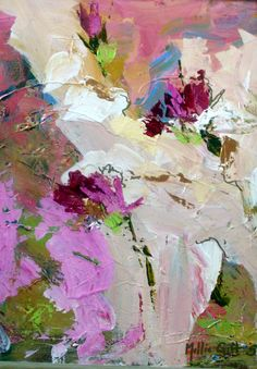 SOLD ONE PALETTE KNIFE ABSTRACT