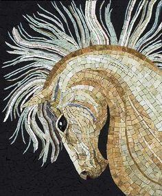 Horse mosaic-Back splash in kitchen???