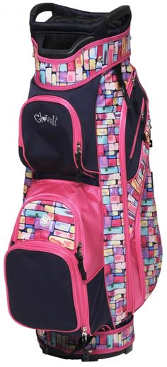 Keep your clubs organized with Tile Fusion Glove It Ladies Golf Cart Bag. Shop this at #lorisgolfshoppe today!