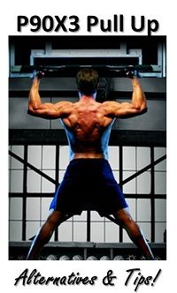 There are different P90X3 Pull Up Alternatives and tips that you should hear if you are trying to get the best possible results with your P90X3 workout.