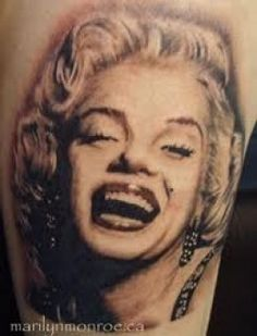 Marilyn Monroe Tattoos And Designs-Marilyn Monroe Tattoo Ideas And Pictures