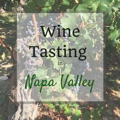 Wine tasting in Napa Valley, California