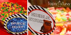 Space Dust and Edible Ewoks (LEGO Star Wars Graphics)