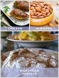 """Also called """"bastilla"""" (depending on the region) this Moroccan pastry is filled with shredded chicken, candied almonds, cinnamon, and so much more!"""