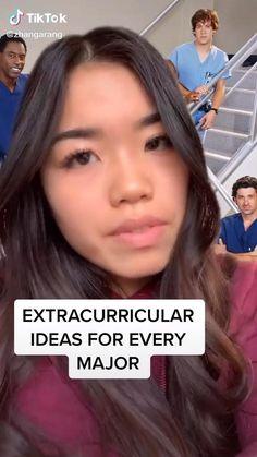 extracurriculars ideas for your major High School Hacks, College Life Hacks, High School Life, Life Hacks For School, School Study Tips, College Tips, School Survival Kits, School Essentials, School Organization