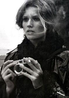 Toni Garrn - Ph: Steven Meisel for Vogue Italia