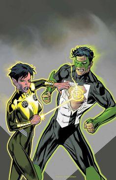 Hal Jordan & The Green Lantern Corps #24 Variant