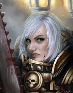 WH40k - Principalis Portrait by Jorsch on deviantART