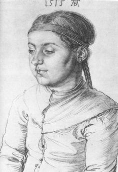 Portrait of a Girl by Albrecht Dürer, 1515